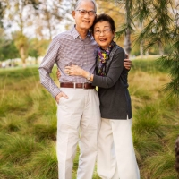 Hai vợ chồng Trương Dục & Mai Hương