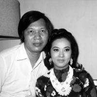 Thanh Nga và chồng là đạo diễn Phạm Duy Lân