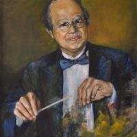 Lê Văn Khoa, 2011 Tranh chân dung bằng acrylic, 24×30 in.