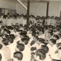Sân trường Ðại Học Văn Khoa Saigon